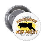Agility Akita Secret Buttons
