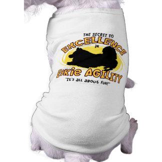 Agility American Eskimo Dog Secret Pet T-shirt