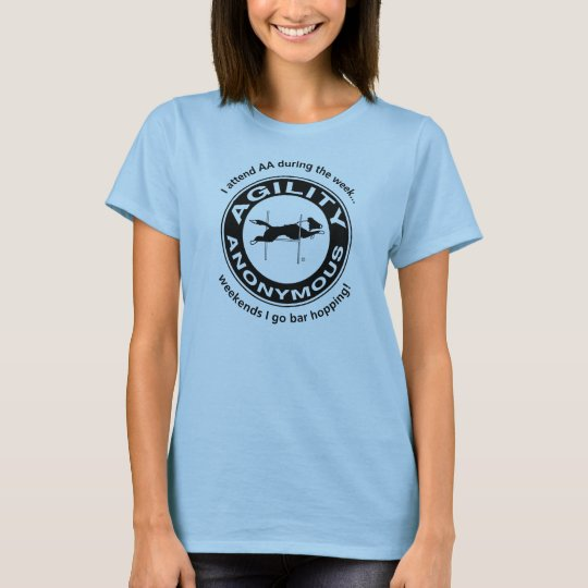 Agility Anonymous Black T-Shirt