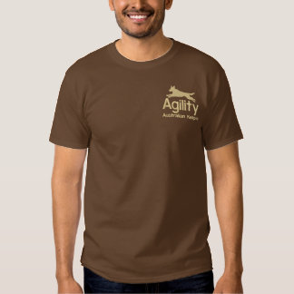 Agility Australian Kelpie Embroidered Shirt