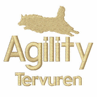 Agility Belgian Tervuren Embroidered T-Shirt