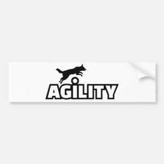 Agility Bumper Sticker