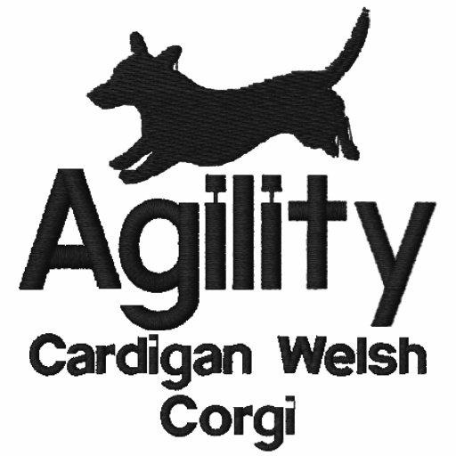 Agility Cardigan Welsh Corgi Embroidered Shirt