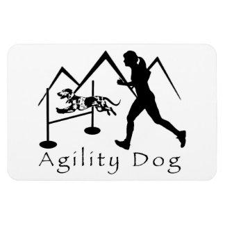 Agility Dog Magnet- Catahoula Rectangular Photo Magnet