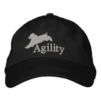 Agility English Springer Spaniel Embroidered Hat