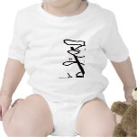 Agility front & back - agility baby t-shirt