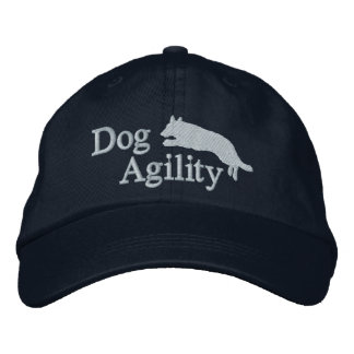 Agility German Shepherd Embroidered Hat