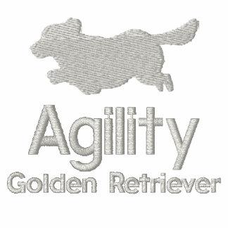 Agility Golden Retriever Women's Polo Shirts