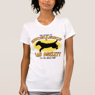 Agility Labrador Retriever Secret Ladies Tank Top