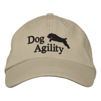 Agility Soft Coated Wheaten Embroidered Hat