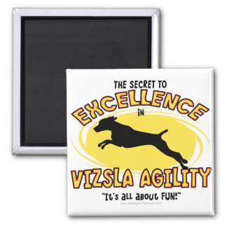 Agility Vizsla Secret Magnet