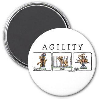 Agility Weave poles GBU magnet