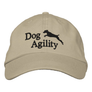 Agility Weimaraner Embroidered Hat