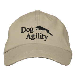 Agility Whippet Embroidered Hat