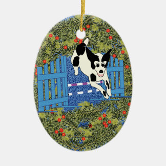 Agility Wreath Christmas Ornament