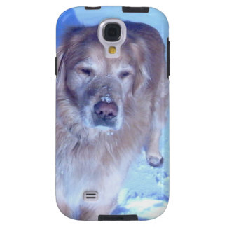 Aging golden retriever. Loves making snow angels. Galaxy S4 Case