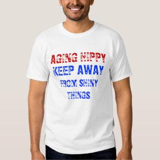 Aging Hippy Tee