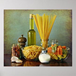aglio, olio e peperoncino (garlic, oil and chili) poster