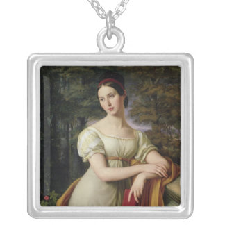 Agnes Rauch , 1825 Silver Plated Necklace