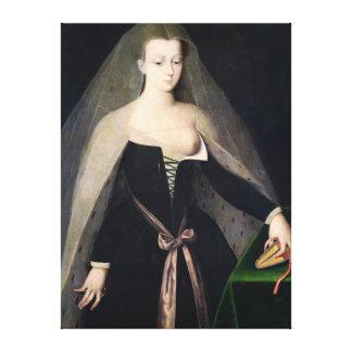 Agnes Sorel Canvas Print