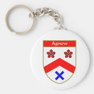 Agnew Coat of Arms/Family Crest Key Chain