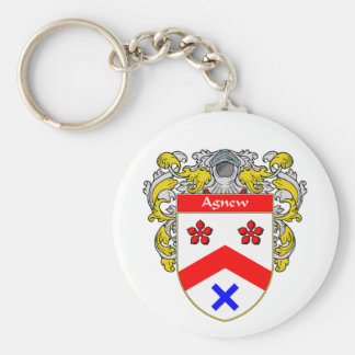 Agnew Coat of Arms (Mantled) Key Chain