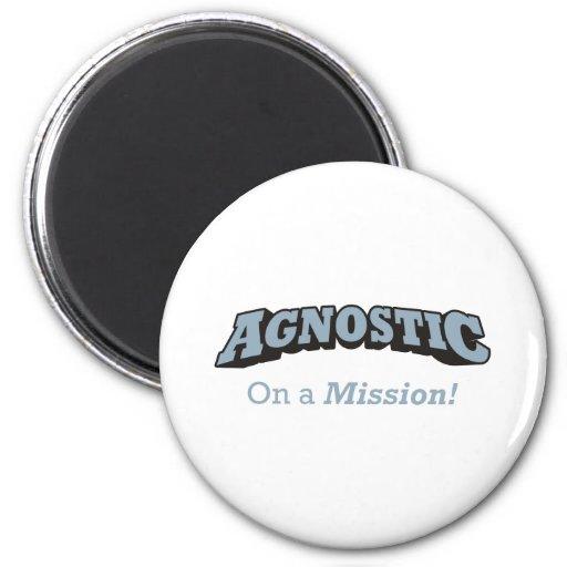 Agnostic - On a Mission! Magnet