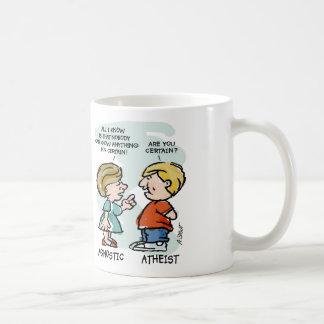 Agnostic vs Atheist Coffee Mug