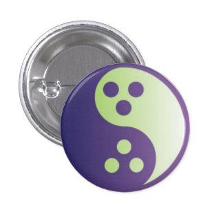 Agnostic Yin-Yang Symbol Button