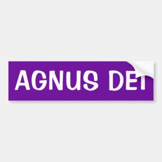 AGNUS DEI BUMPER STICKER