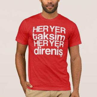ago more yer taksim - white T-Shirt