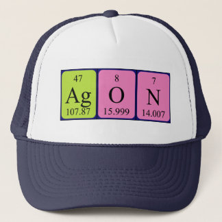 Agon periodic table name hat