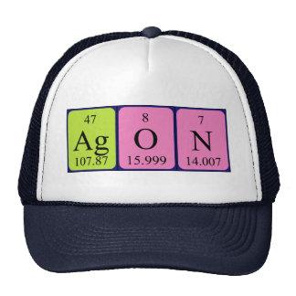 Agon periodic table name hat