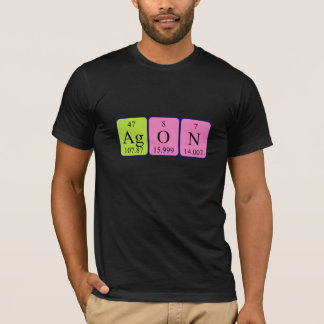 Agon periodic table name shirt