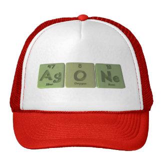 Agone-Ag-O-Ne-Silver-Oxygen-Neon Hats