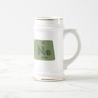 Agone-Ag-O-Ne-Silver-Oxygen-Neon Coffee Mugs