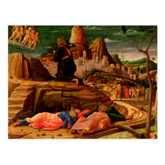 Agony in the Garden, c.1460 Postcard