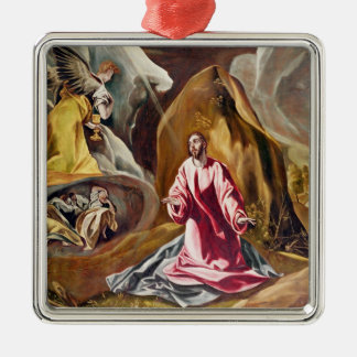 Agony in the Garden of Gethsemane, c.1590's Christmas Ornament