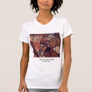 Agony (The Death Struggle) By Schiele Egon T-Shirt