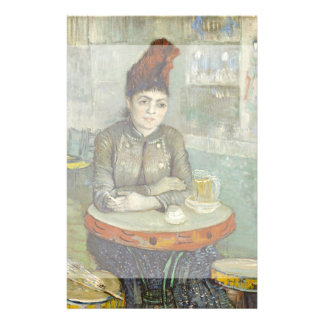 Agostina Segatori in Cafe du Tambourin by Van Gogh 14 Cm X 21.5 Cm Flyer
