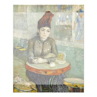 Agostina Segatori in Cafe du Tambourin by Van Gogh 11.5 Cm X 14 Cm Flyer