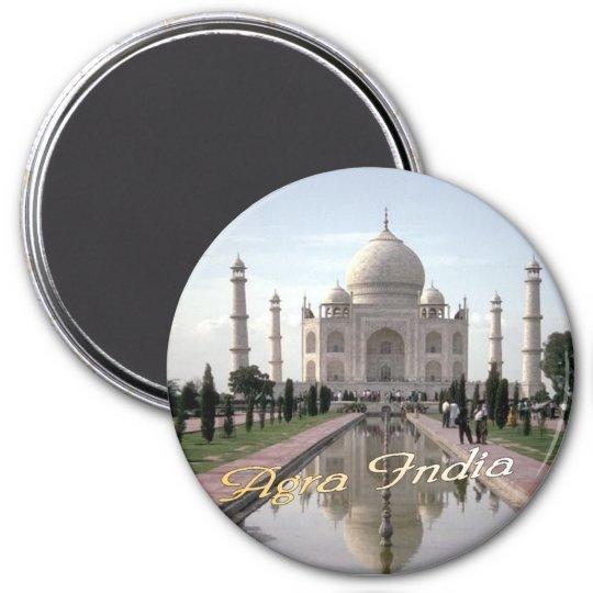 Agra India magnet