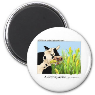 Agrazin Maze Funny Cow Cartoon Gifts Collectibles Refrigerator Magnet