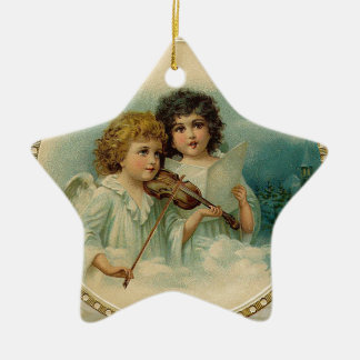 Agreeable - Two Little Musical Angels Christmas Ornament
