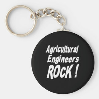 Agricultural Engineers Rock! Keychain
