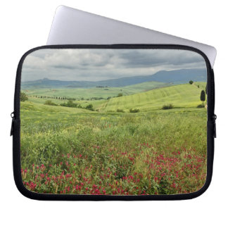 Agricultural field, Tuscany region of Italy. Laptop Sleeve