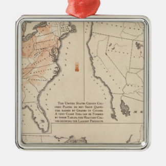 Agricultural Productions in the US Christmas Ornament