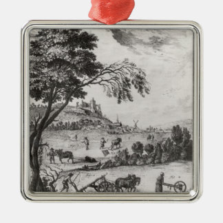 Agriculture Christmas Ornament