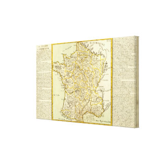Agriculture of France Canvas Print