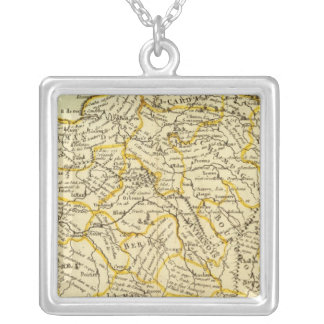 Agriculture of France Silver Plated Necklace